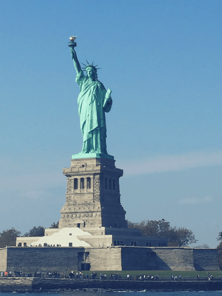 Statue of liberty is a symboFreedom is an important value for Kamala Harris and often used in Kamala Harris Quoutes