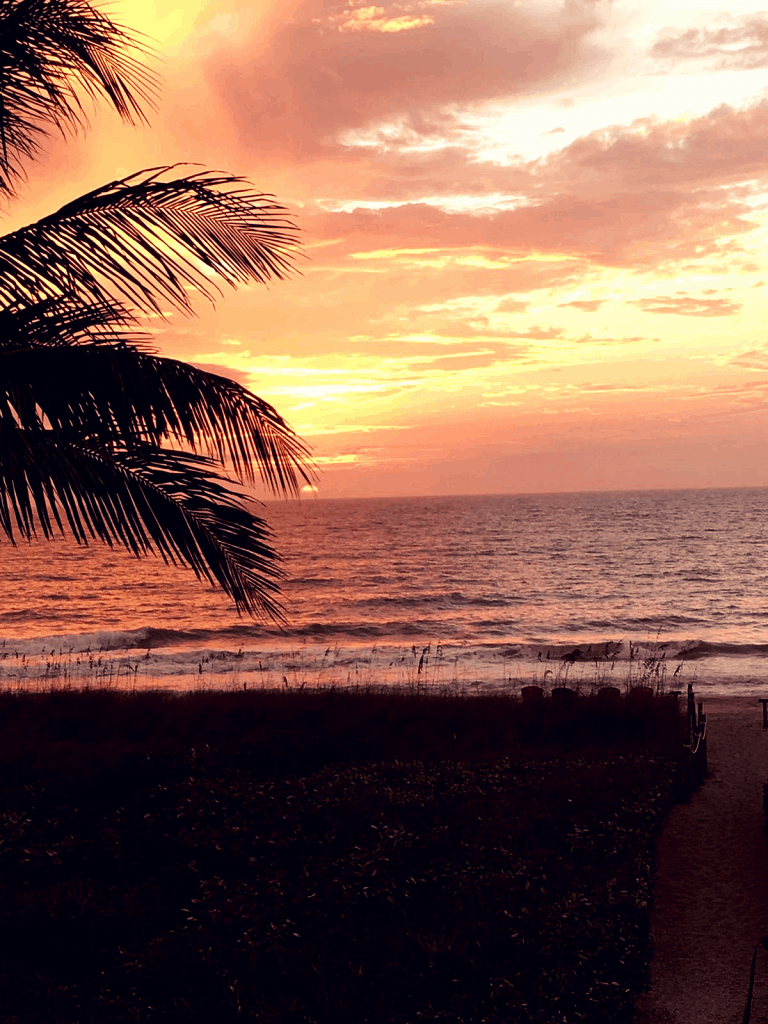 Sunset on Captiva - best place for recovery